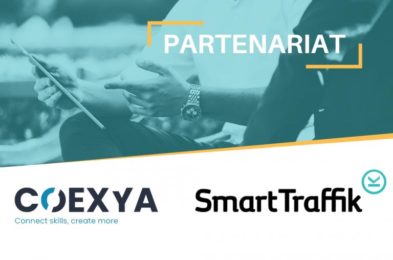 partenariat smart traffik et coexya